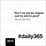 #daily365 or #the3six5 … Hmmm.. I'm In